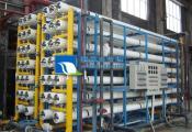 楚雄施工中的200T/H反渗透纯水设备+混床